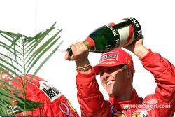 Champaña para Michael Schumacher