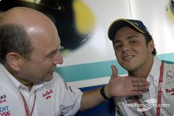Peter Sauber and Felipe Massa