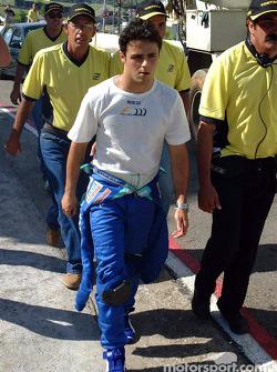 Felipe Massa de regreso a los pits