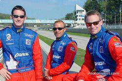 Panoz drivers Gunnar Jeannette, Bill Auberlen and David Donohue will drive the #12 Panoz LMP-1 Evo a