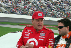 Jimmy Spencer y Tony Stewart