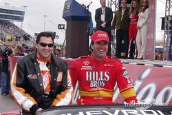 Tony Stewart and Hut Stricklin