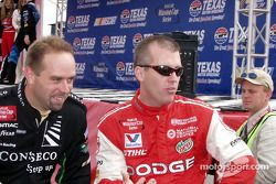 Stacy Compton y Jeremy Mayfield