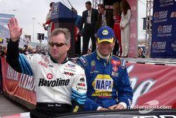 Ricky Rudd et Michael Waltrip