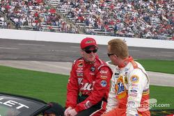 Dale Earnhardt Jr. and Ricky Craven