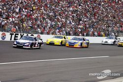Rusty Wallace, Jeff Green et Dave Blaney