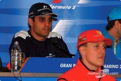 Thursday basın toplantısı: Juan Pablo Montoya ve Michael Schumacher