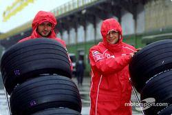 Cuadrillas del Equipo Ferrari