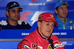 Thursday basın toplantısı: Michael Schumacher