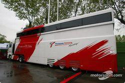 Panasonic Toyota Racing Motorhome
