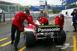 Team Toyota getting ready for day