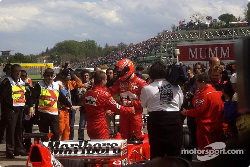45. San Marino 2002, Ferrari F2002