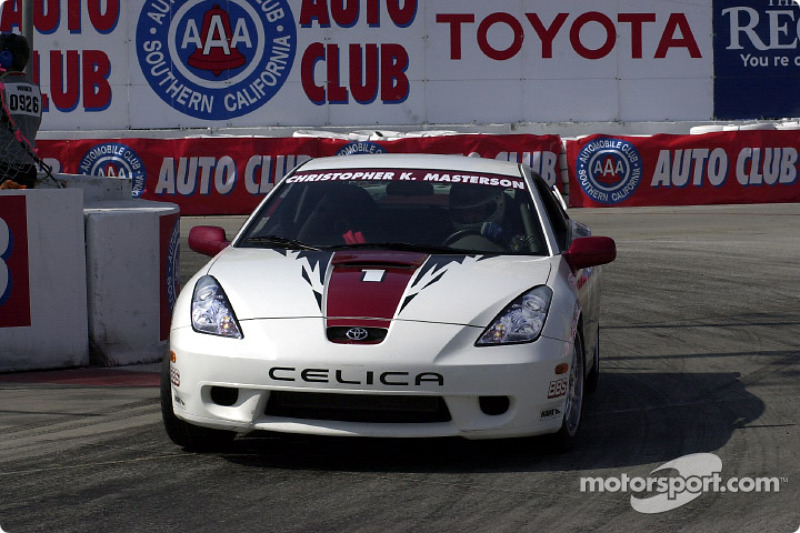 Celebrity race practice: Christopher K. Masterson