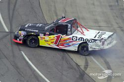 Ted Musgrave looses control