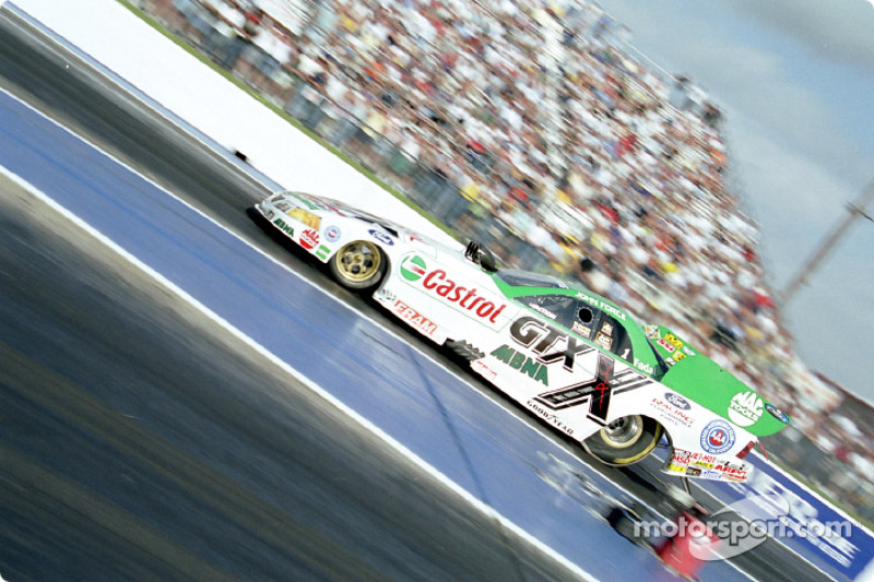 John Force at speed