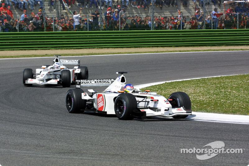 Jacques Villeneuve et Olivier Panis