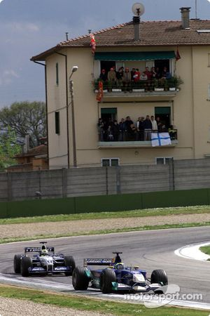 Felipe Massa und Ralf Schumacher