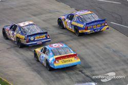 Michael Waltrip, John Andretti and Jeff Green