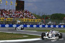Jacques Villeneuve y Olivier Panis