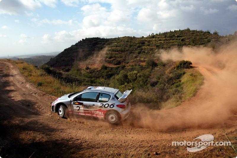 11. Rally de Chipre 2002: 67,54 km/h