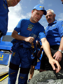 Tommi Makinen parle du choix de pneus