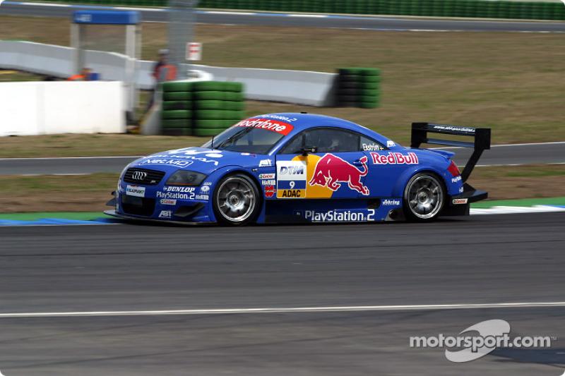 Mattias Ekström, Abt Sportsline, AbtAudi TTR bei Hockenheim  DTM Fotos
