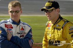 Jeff Burton y Matt Kenseth
