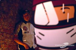 Julian Opie réunit l'art et la Formule 1 : Olivier Panis