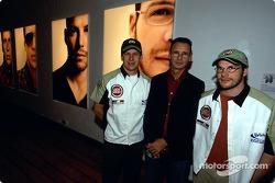 El artista británico Julian Opie junta el arte con las carreras de Fórmula 1: Olivier Panis, Julian