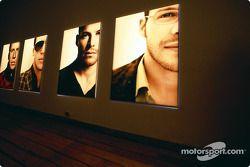 Julian Opie réunit l'art et la Formule 1