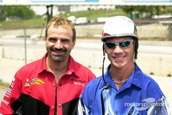 Miguel Duhamel and Scott Russell
