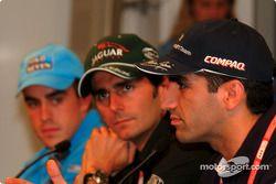 Thursday basın toplantısı: Fernando Alonso, Pedro de la Rosa ve Marc Gene