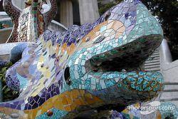 famous salamander, Gruell Park