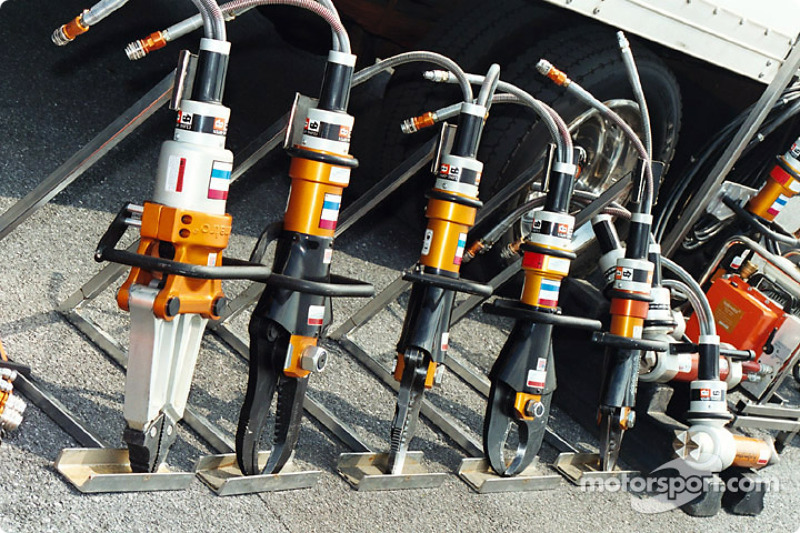 Tools of the crash crew