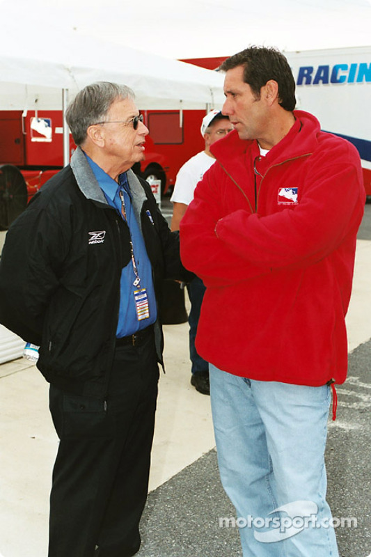 Loe Mehl and Tony George