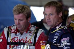 Sterling Marlin y Rusty Wallace