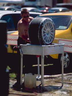 Nettoyage des roues