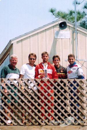 Deuxième place pour Glenn Howle, John Dean, Phil Van Tubbergh, Mark Gray et Wayde Alfarone