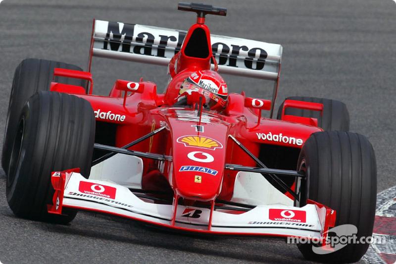 2002: Michael Schumacher, Ferrari F2002