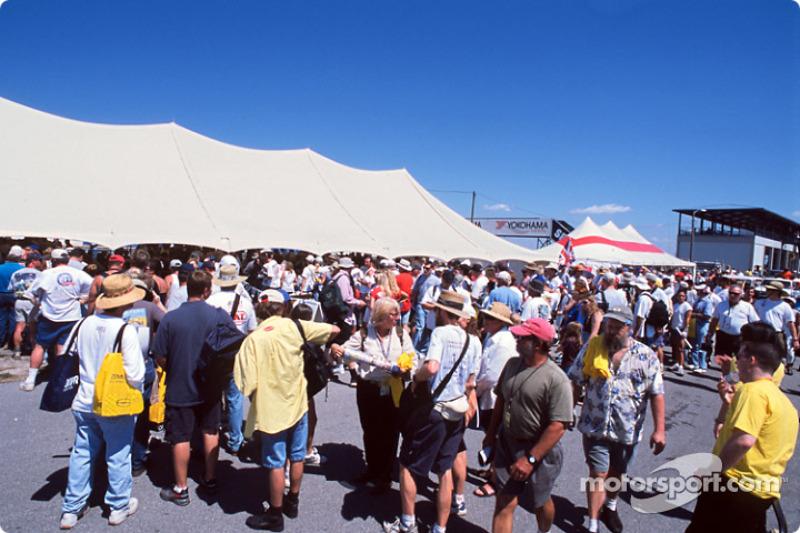 Fans à Sebring