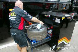 Team Minardi crew member