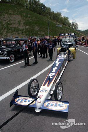 Larry Dixon's Miller Lite dragster