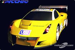 La Picchio P2 roulera en catégorie DP en 2003