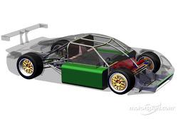 Le dernier Daytona Prototype conçu par Fabcar est présenté