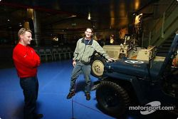 Visit to the Le Mans Museum: Gunnar Jeannette and David Donohue