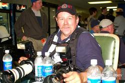 El contributor de Motorsport.com, un muy sediento Dave Dalesandro