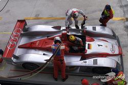 Driver change Tom Kristensen - Frank Biela