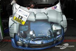 Mercedes-Motorhaube