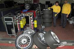 Área de garage del Abt Sportsline