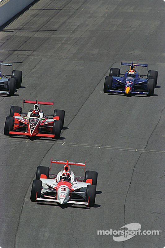 A lap around the speedway with six previous Indy 500 winners